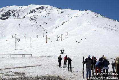 Maroc, station de ski de Oukaimeden