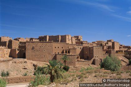 Maroc - Sud - Ouarzazate - Kasbah de Taourirt