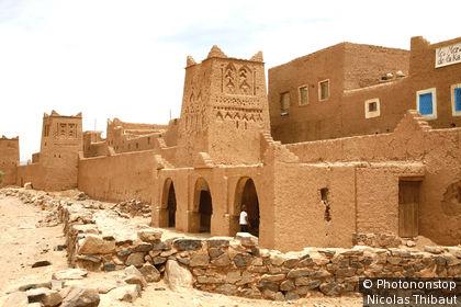 Maroc, vallée du Draa, village de Tissergate, pres de Zagora
