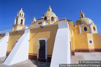 Mexique - Cholula - Eglise Virgin Remedios