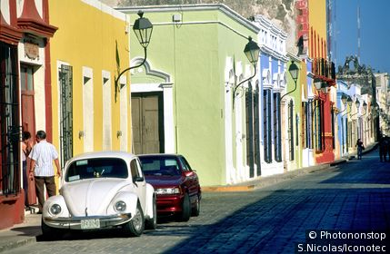 Mexique, Campeche