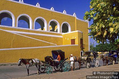 Mexico, Yucatan, Merida, the cathedral
