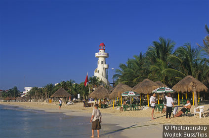 Mexico, Quintana Roo. Playa del Carmen