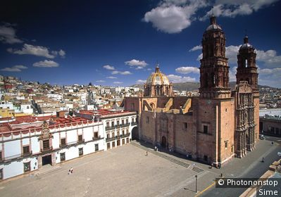 Mexique, Zacatecas, Zacatecas - The Cathedral (UNESCO World Heritage)