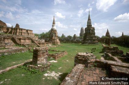 Thailand, Ayutthaya the ruins