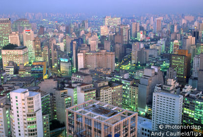 Sao Paulo Capital City, Brazil