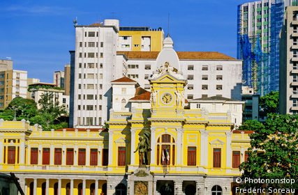 Brésil, Minas Gerais, gare de Belo Horizonte