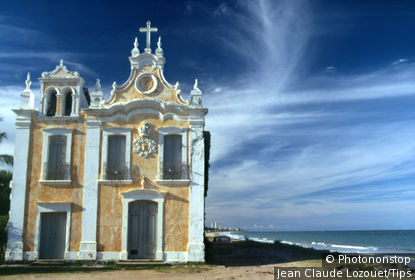 Church, Recife city, Pernambuco state, Brazil