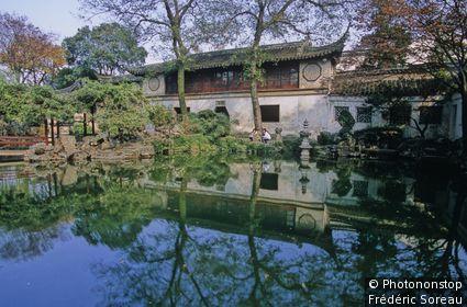 Chine, Suzhou, jardin de l'Humble Administrateur
