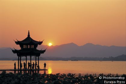 China, Zhejiang Province, Hangzhou, West Lake