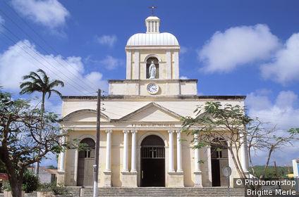 Antilles, Marie Galante, église de Grand Bourg