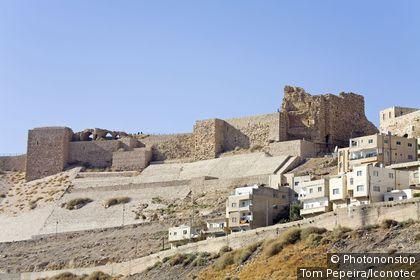 Jordanie, Kerak, château des croisés