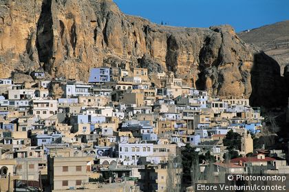 Syrie, Maaloula, village chrétien