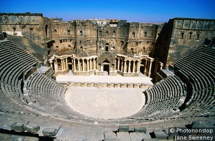 Roman Theatre. Bosra, As Suwayda', Syria