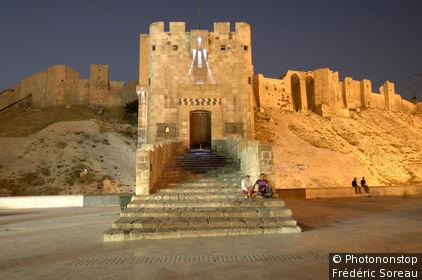 Syrie, Alep, la citadelle (Al Qala'a)
