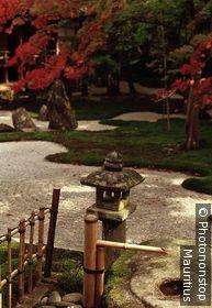 Japan, Kyushu, Dazaifu, Komiyo-ji Tempel, Ittekikaino-niwa Garten innen, Fukuoka-ken, Komiyoji, Lebensart, japanisch, Kultur, Park, Garden, Garten, japanischer, Parkanlage, Brunnen, Herbst,
