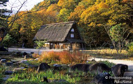 Japon;Chubu - Japan, Nihon, Chubu, Shirakawa-go region, Ogimachi village, Gassho Museum