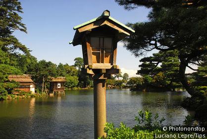 Japan, Kanazawa, Kenroku Park