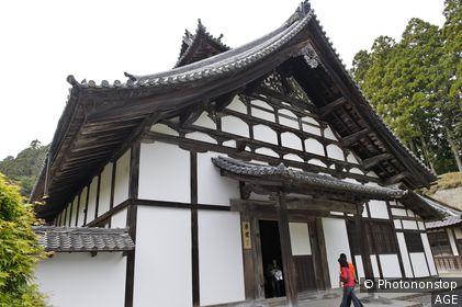 Temple Zuiganji fondé en 828, devint plus tard le centre de la secte Rinzai Ecole de Myoshinji Ville