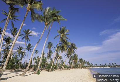 REPUBLIQUE DOMINICAINE, BAYAHIBE, LA PLAGE