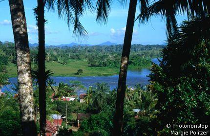 The village of El Castillo. Rio San Juan, Nicaragua