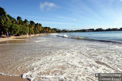 West Indies, Martinique, Vauclin beach