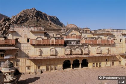 Palace complex of Alwar. Rajasthan, India