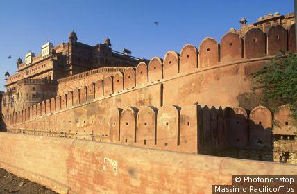 India, Rajasthan, Bikaner, fort Junargarth