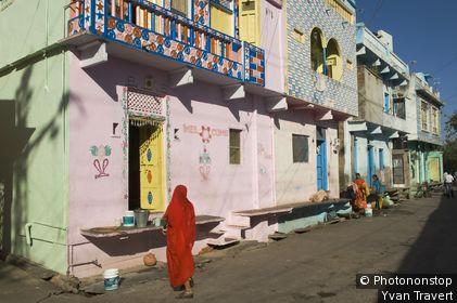 Scéne de rue;Dungarpur;Sud Rajastan;Inde//Street scene;Dungarpur;South Rajastan;India