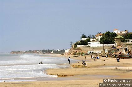 Sénégal, Petite côte, Toubab Dialaw, plage