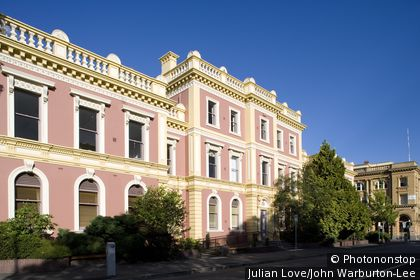 Launceston, Tasmania, Australia. 19th century colonial architecture in Launceston