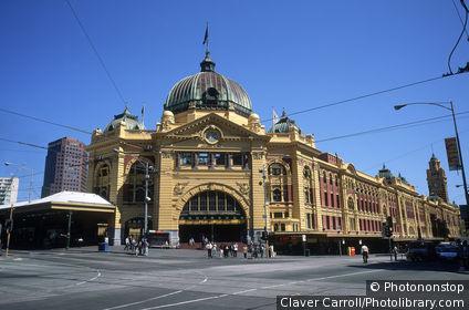 Flinders St. Station, Melbourne, Victoria, Australia