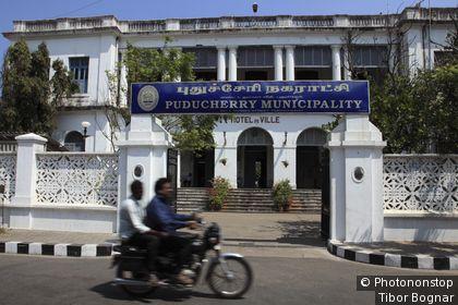 Inde, Pondichery, Hôtel de Ville