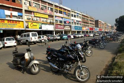 Inde, Punjab, Chandighar.