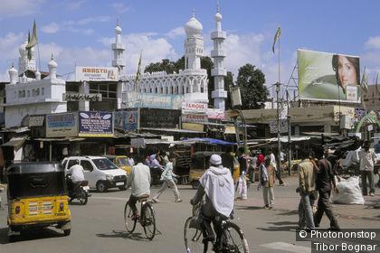 Inde, Andhra Pradesh, Hyderabad, centre ville