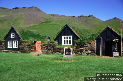 Islande, Skogar, maison rurale