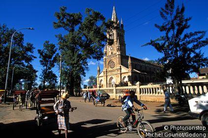MADAGASCAR, ANTSIRABE, Antsirabe church , Madagascar