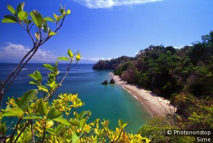 Costa Rica, Guanacaste, Océan Pacifique - Isla Tortuga