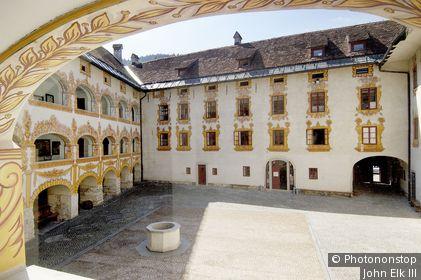Gewerkenegg Castle. Idrija. Slovenia