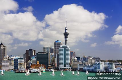 Nouvelle-Zélande, Auckland, skyline