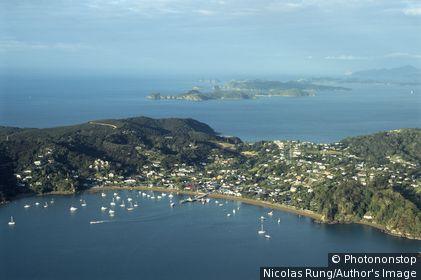 Nouvelle zélande - Ile du Nord - Northland - Bay of Islands - Russell - Kororareka Bay