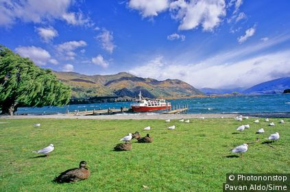 New Zealand, South Island, Wanaka lake