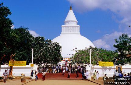Krivehara Stupa. Kataragama, Uva, Sri Lanka