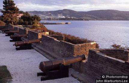 Chile;Chiloe Island.;Ancud. - San Antonia Fort