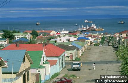 Chili, Terre de feu, Punta Arenas