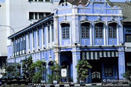Malaisie, Ipoh, le bar-restaurant FMS