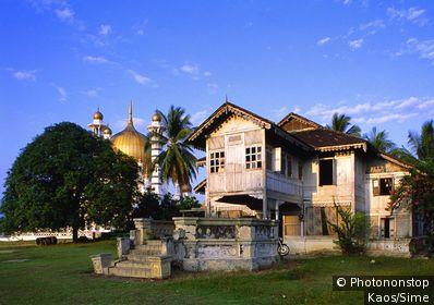 Malaysia, Perak, Kuala Kangsar, A typical Malay house