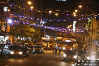 Streetlife Downtown, Johor Bahru, Malaysia