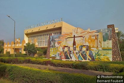 Mali, Bamako, assemblée nationale
