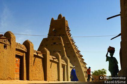Mali, Tombouctou, Tombouctou - The mosque of Sidijaja